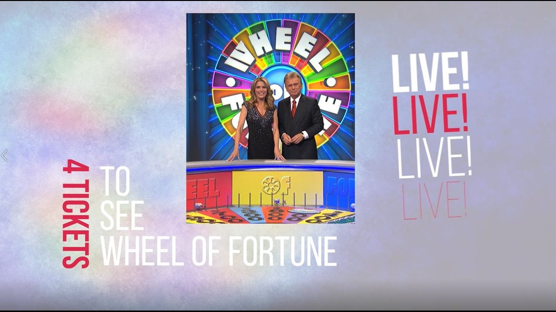 Enter to Win Wheel of Fortune Show Tix + Please Donate Today!
