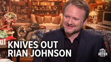 Knives Out: Rian Johnson talks All-Star Cast and Star Wars   Extra Butter Interview
