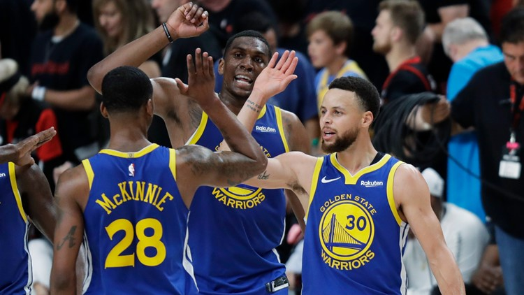 Warriors take 3-0 series lead over Trail Blazers after comeback win in Portland