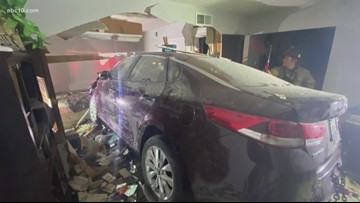 Community speaks out after car crashes into Rancho Cordova home