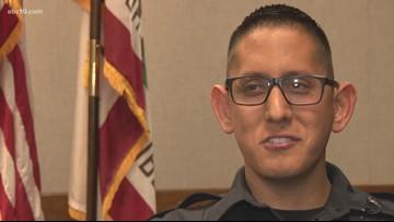 Modesto officer back to work 1 year after horrific car crash