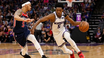 Fox scores 31 as Kings hold off Beal, Wizards 133-126