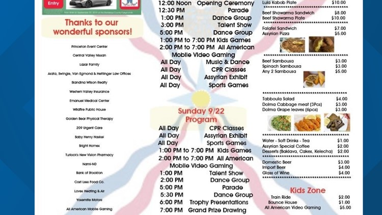 091719 assyrian festival schedule