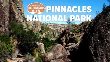 Volcanoes create stunning rock spires and caves at Pinnacles National Park   Bartell's Backroads