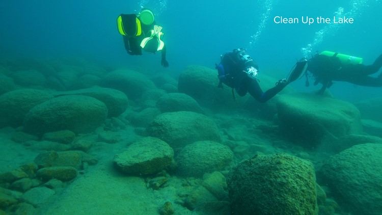 Decades of trash being removed by dedicated divers | NorCal Strong