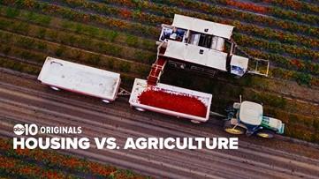 Housing versus agriculture; the California battleground