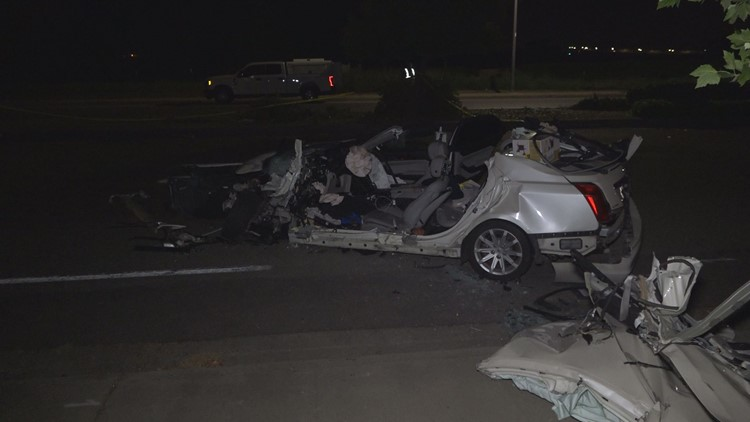 1 dead, 3 injured in suspected DUI collision on Franklin Boulevard in Sacramento
