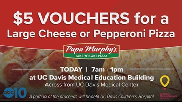 Eat fresh pizza and help a great cause!