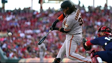 Giants shake off 4-run Reds first, pull out 6-5 win