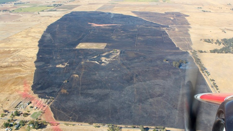 600 acre fire in Placer County 100% contained | Update