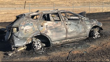 I-5 reopened after grass fire ignites, torches several cars near Natomas