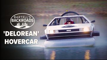 Great Scott! California man selling homemade 'DeLorean' hovercraft ' Bartell's Backroads
