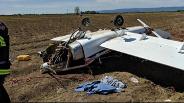 Pilot injured in plane crash near Yolo County Airport