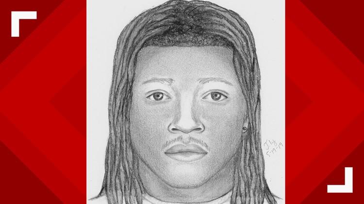South Sacramento deadly apartment shooting suspect sketch