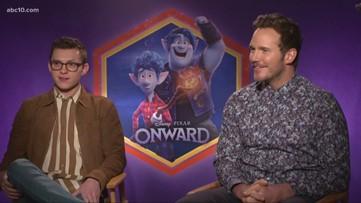 Mark S. Allen previews the new Pixar film 'Onward' with stars Tom Holland, Chris Pratt