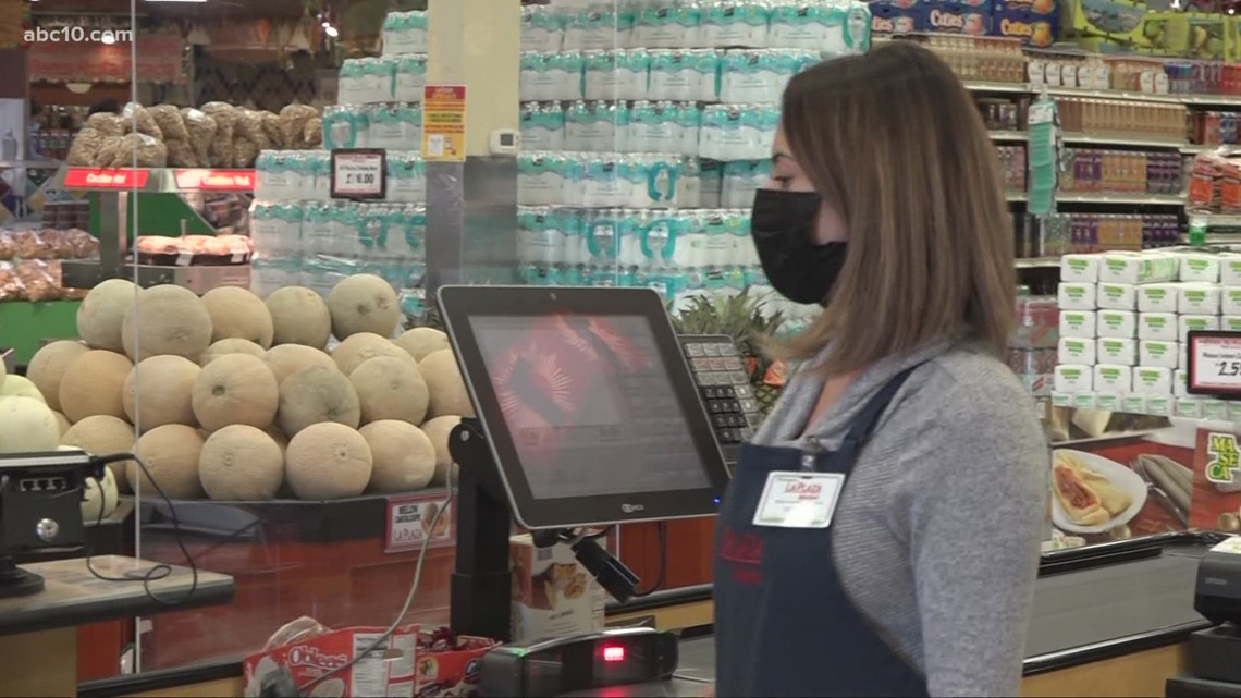 Employees excited to take off masks while working