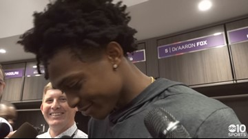 De'Aaron Fox on Kings win over Thunder, overcoming poor shooting night