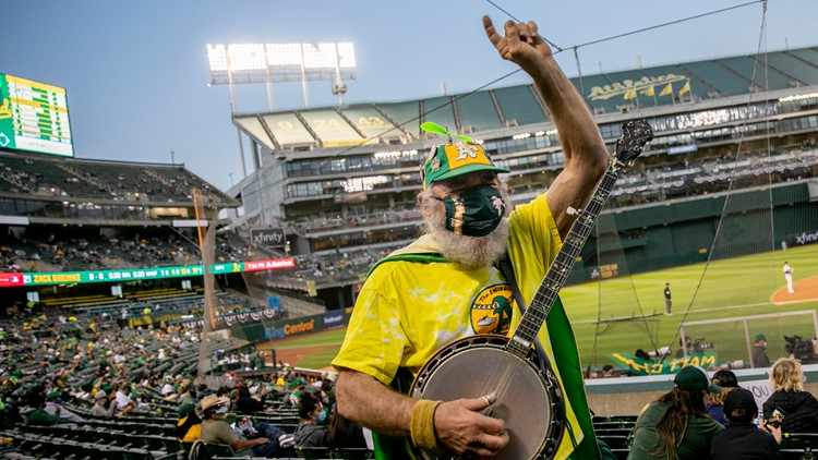Benching COVID-19: Baseball fans return to California stadiums