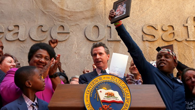 Gov. Gavin Newsom signs law changing standards for police use-of-force