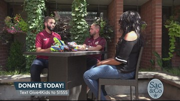 Find out how Sac Republic FC is partnering with UC Davis Children's Hospital to change lives!
