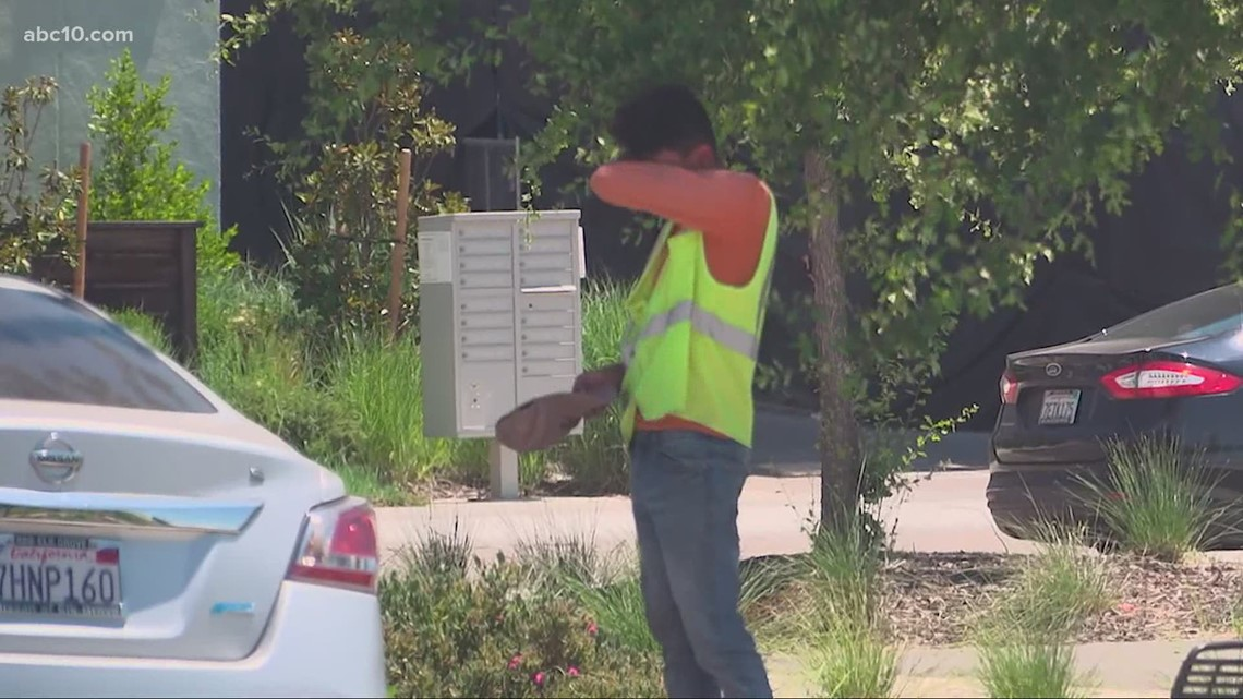 Workers adjusting schedules earlier to beat the heat