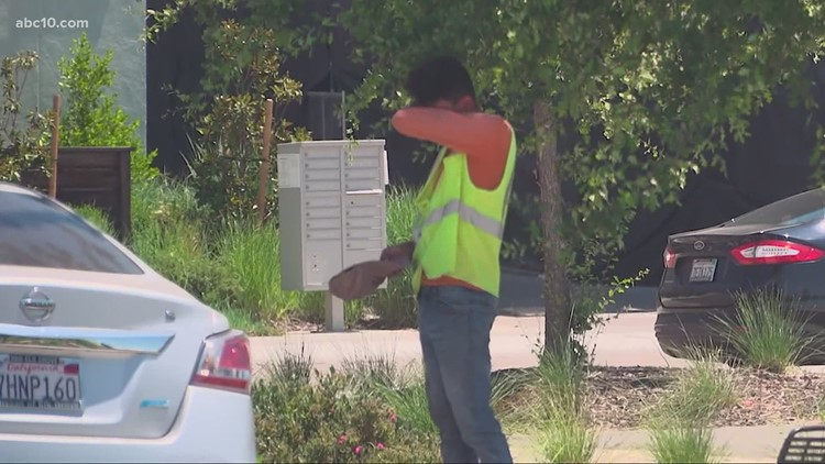 'The heat is a serious opponent' | How outdoor workers can protect themselves from triple-digit heat days