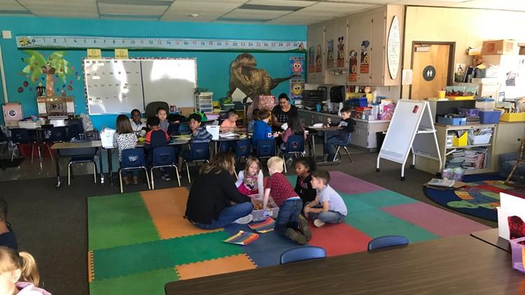 Orchard Elementary School w/o power