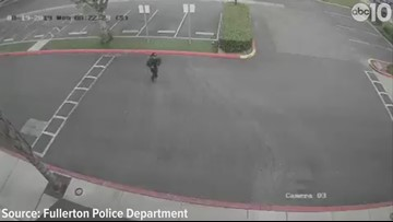 Video of Cal State stabbing suspect released by police