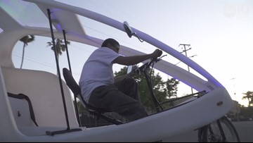 Owner of electric pedicab business sets up shop in Oak Park
