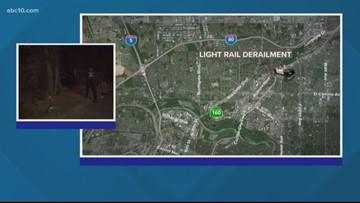 27 injured in Light Rail derailment near Roseville Road and Marconi Avenue