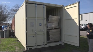 San Joaquin County introduces mobile animal rescue container for natural disasters