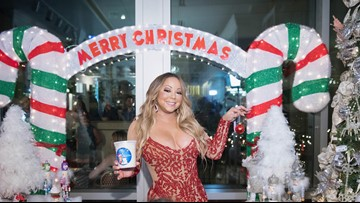 Mariah Carey calls Orangevale family after their holiday decorations featuring her music videos went viral