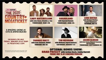17 Artist, 6 Shows, & 1 Megaticket!