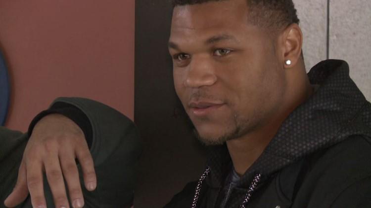 Former Broncos RB Devontae Booker ready for fresh start with Raiders