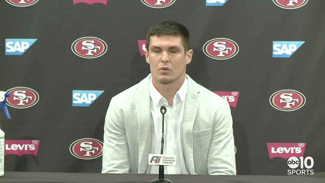 San Francisco 49ers QB Nick Mullens reflects on start in 25-20 loss to Philadelphia Eagles