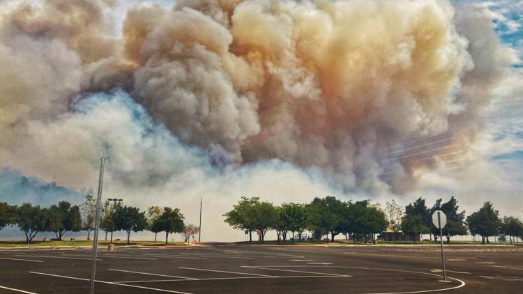 Potters Fire reaches 1,012 acres, new evacuation warning issued | Update