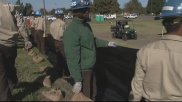 California Conservation Corps obtains flood watch skills in Stockton