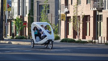 Sacramento could ban pedicabs from riding on sidewalks