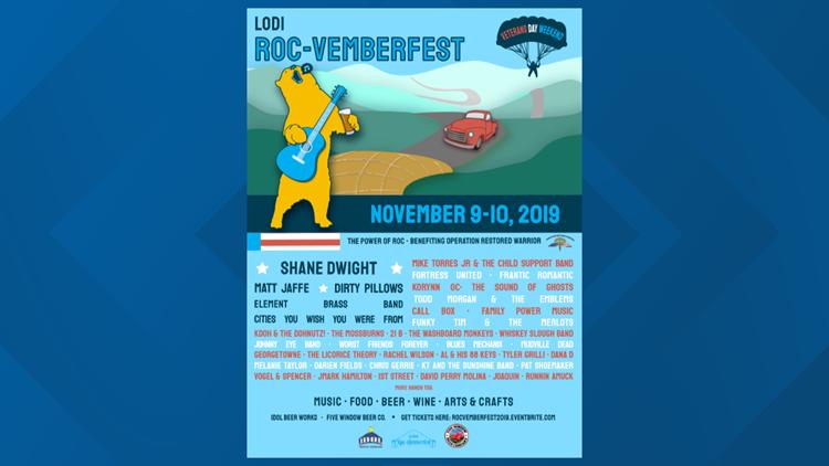Lodi Roc-Vemberfest