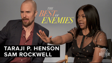 Taraji P. Henson & Sam Rockwell | 'The Best of Enemies' Interview | Extra Butter