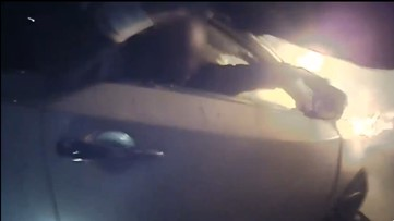 'I don't feel like a hero' | Video shows Elk Grove officer saving man from burning car