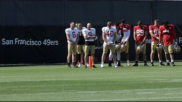 Watch: San Francisco 49ers hold moment of silence for Gilroy Garlic Festival shooting victims