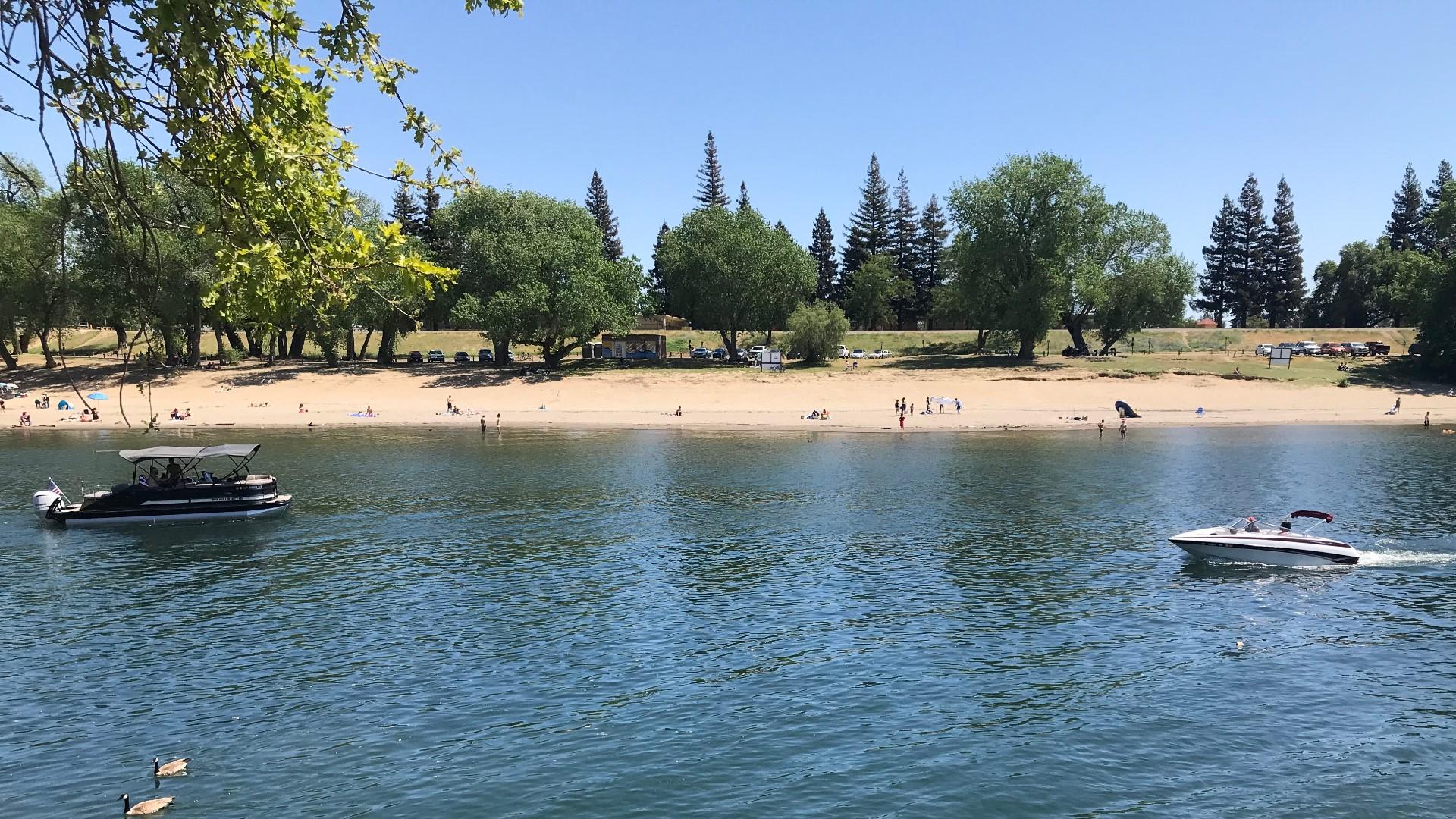 Halloween Sacramento Folsom 2020 Crowds expected at rivers Memorial Day despite coronavirus   abc10.com