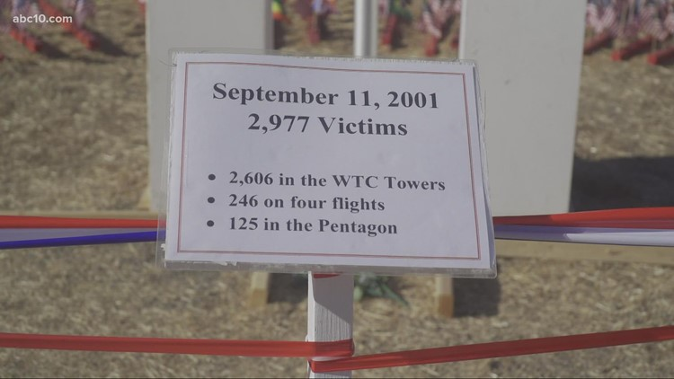 Sacramento area events to pay tribute to victims of  9/11 attacks