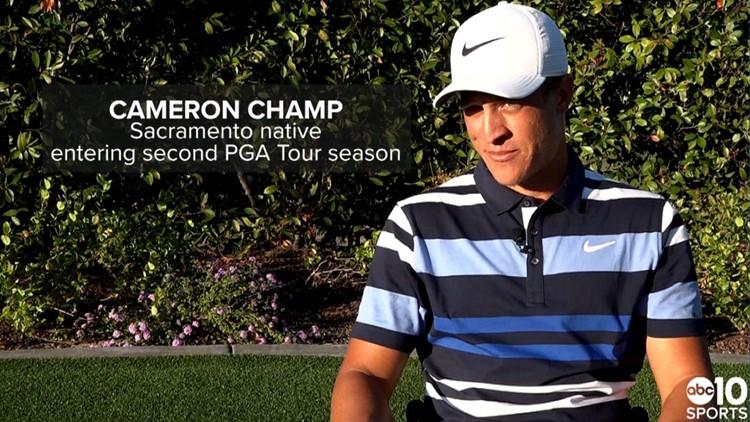 Sacramento's Cameron Champ reflects on first PGA Tour season