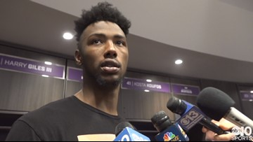 Harry Giles on Kings revenge win over Trail Blazers, upcoming road trip