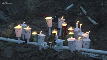 Modesto city worker remembered by friends and family at candlelight vigil