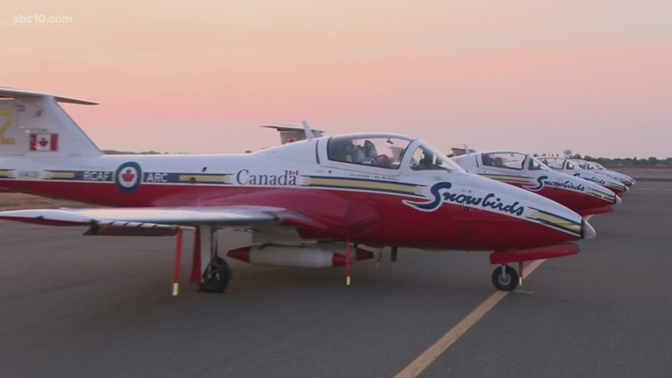 A sneak peak at what to expect at the California Capital Airshow this weekend