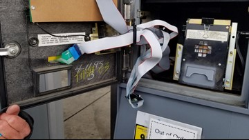 Multiple Auburn gas stations affected in credit card skimming operation, deputies say