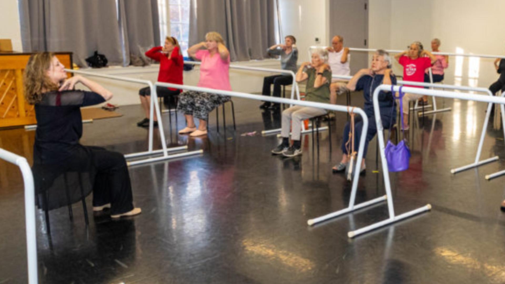 Seniors Learn Balance Through Sacramento Ballet Class Everyday Heroes Abc10 Com